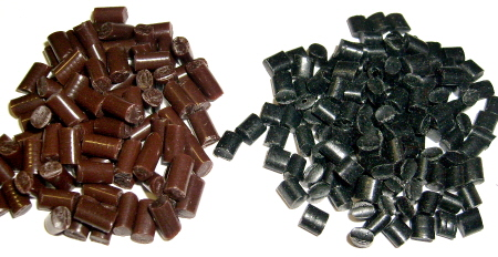Brown or Black Fusion Pellets - Click Image to Close